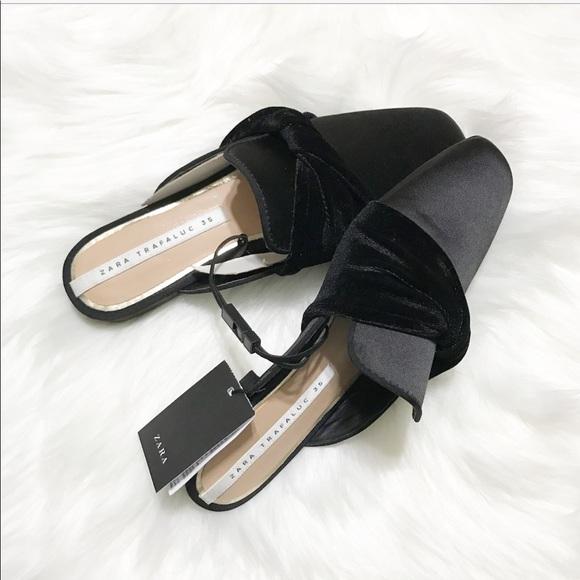 Zara Shoes   Zara Trafaluc Mules With